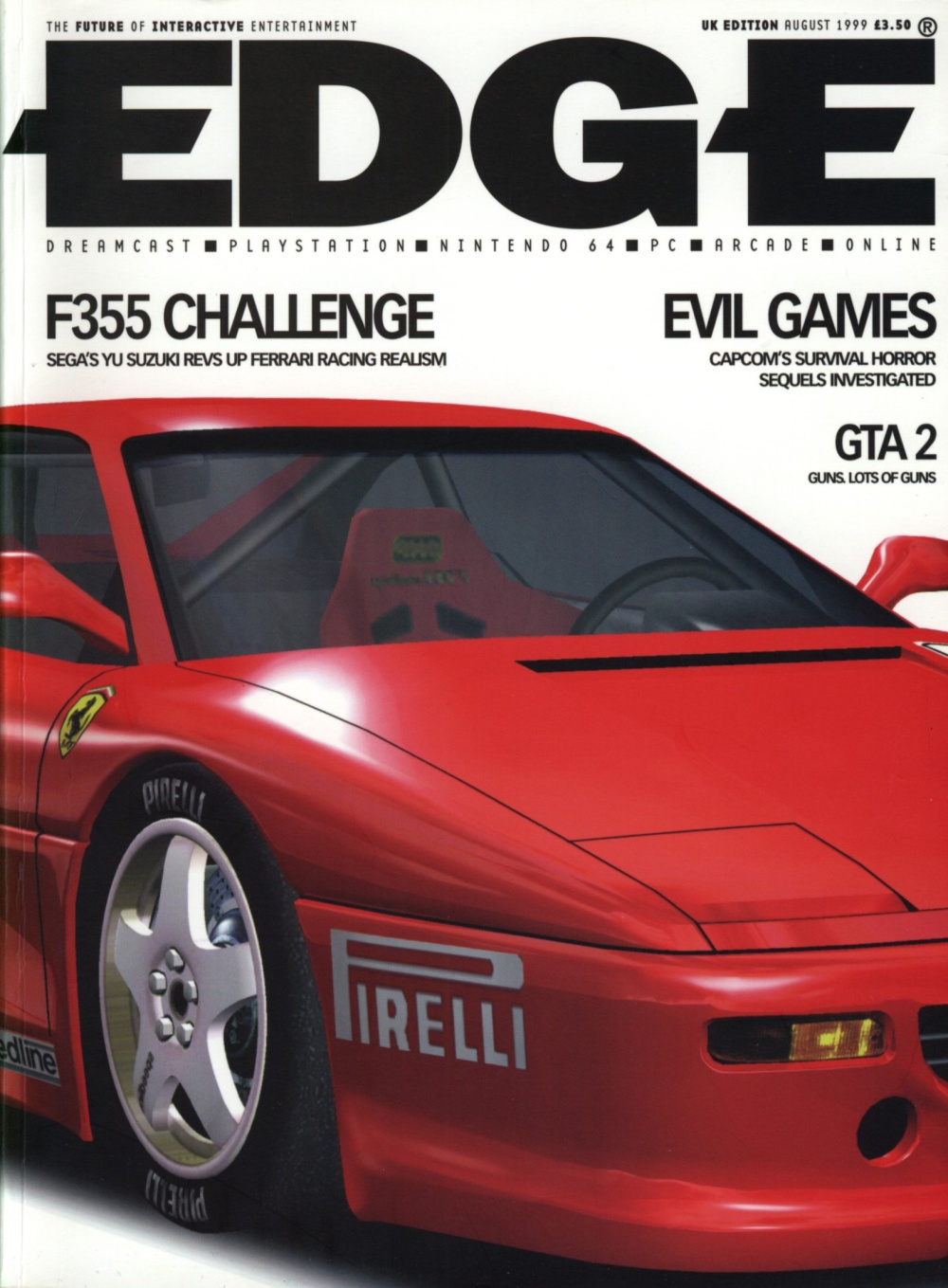 Scan of Document: Edge - Issue 74 - August 1999