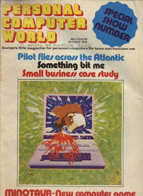 Scan of Document: Personal Computer World - October 1978