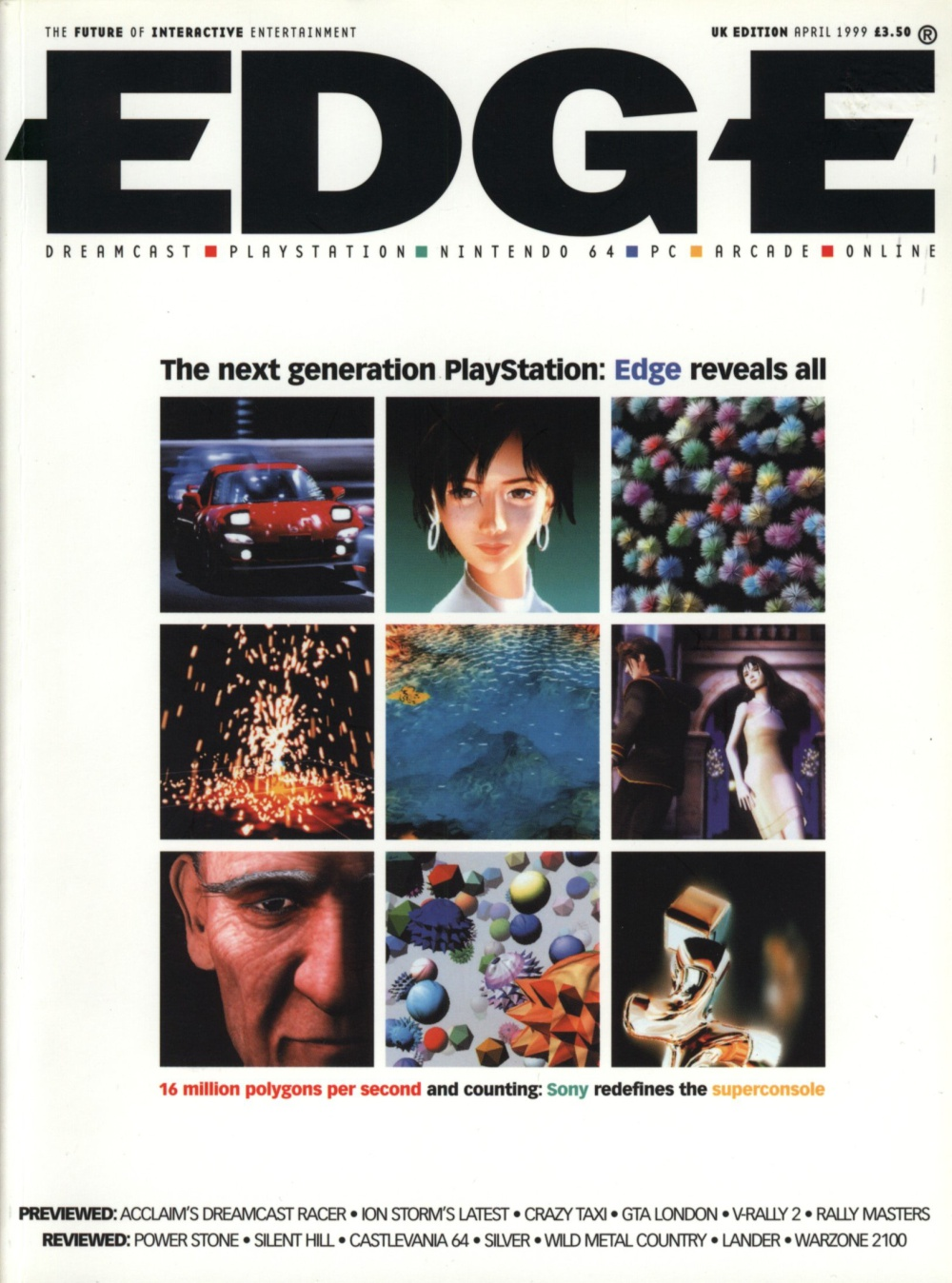 Scan of Document: Edge - Issue 70 - April 1999
