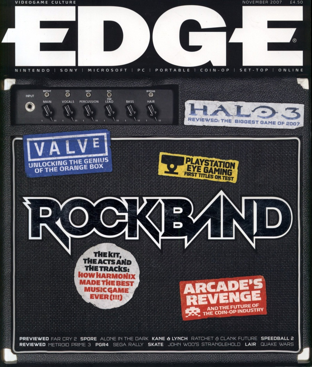 Scan of Document: Edge - Issue 181 - November 2007