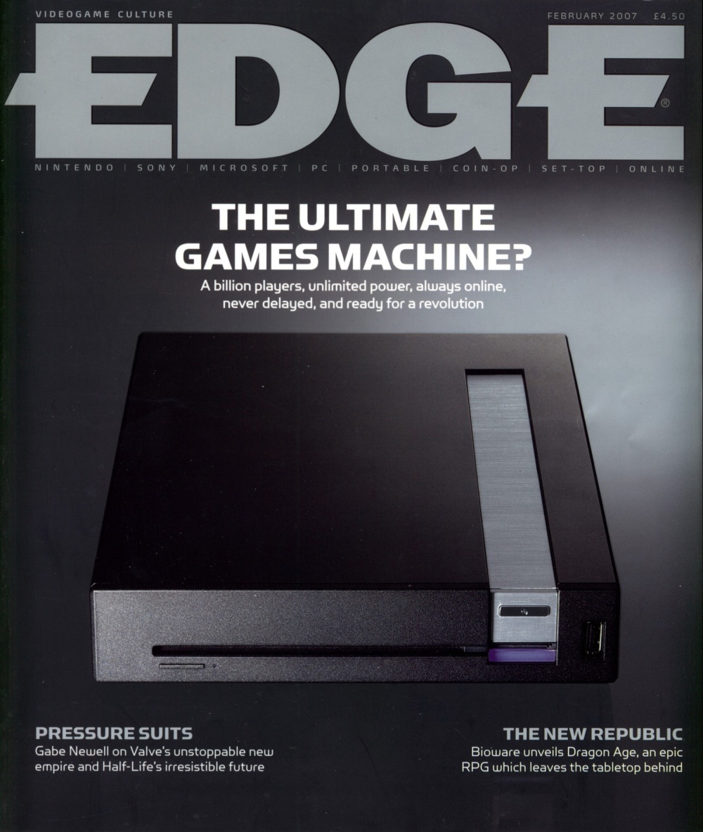 Scan of Document: Edge - Issue 172 - February 2007