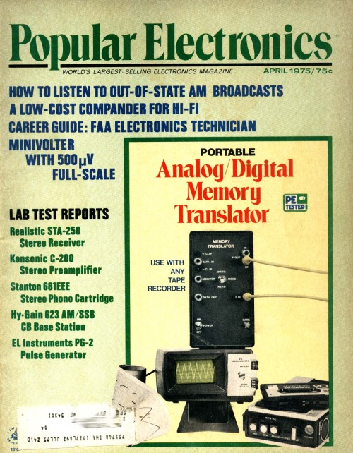 Scan of Document: Popular Electronics - April 1975