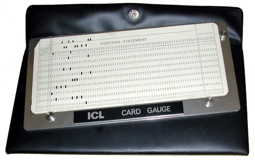 Scan of Document: ICL Card Gauge