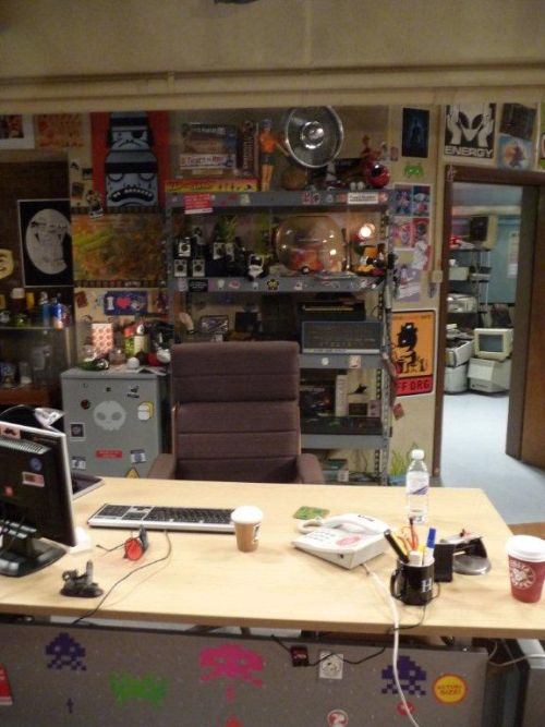 Photograph of The IT Crowd Set