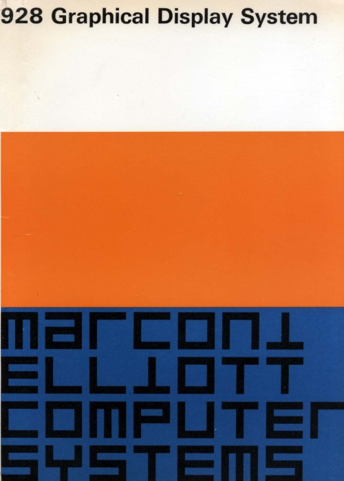 Scan of Document: Marconi Elliott 928 Graphical Display System
