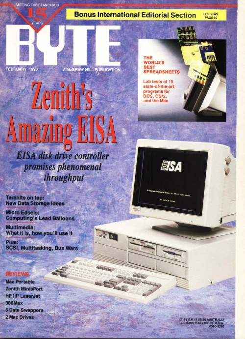 Scan of Document: Byte February 1990