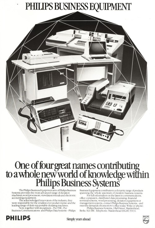 Scan of Document: Philips Business Equipment