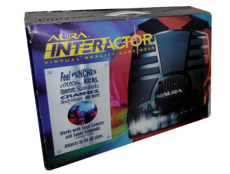 Scan of Document: Aura Interactor Virtual Reality Game Wear