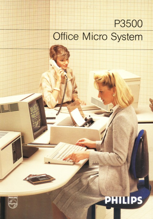 Scan of Document: Philips P3500 Office Micro System