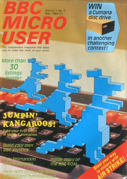 Scan of Document: BBC Micro User - May 1983 - Vol 1 No 3