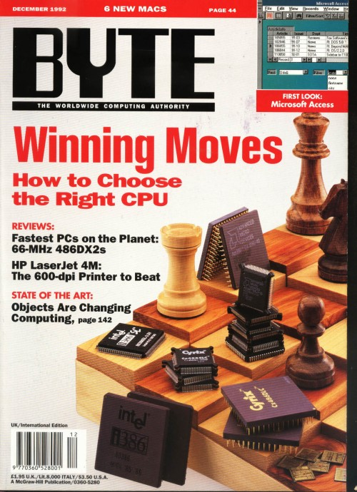 Scan of Document: Byte December 1992