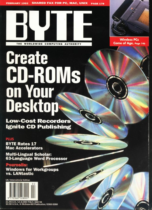 Scan of Document: Byte February 1993