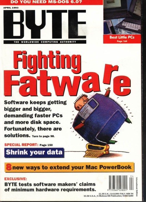 Scan of Document: Byte April 1993
