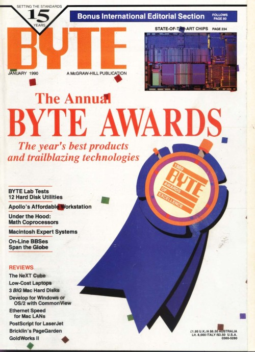 Scan of Document: Byte January 1990