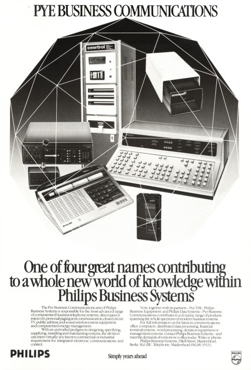 Scan of Document: Pye Business Communications