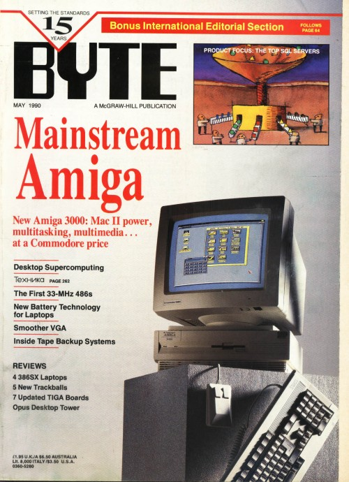 Scan of Document: Byte May 1990
