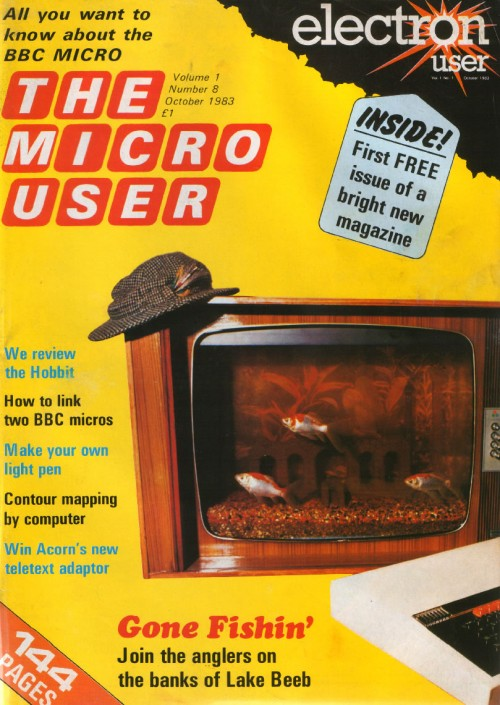 Scan of Document: The Micro User - October 1983 - Vol 1 No 8