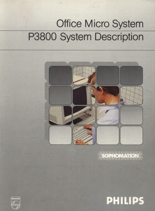 Scan of Document: P3800 Office Micro System