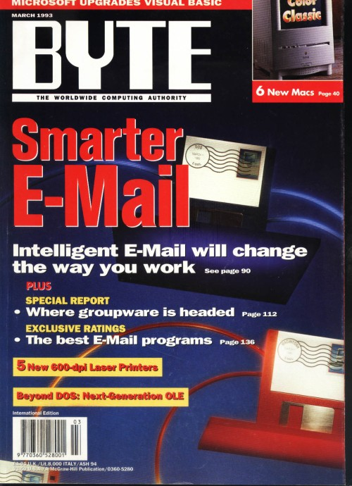 Scan of Document: Byte March 1993