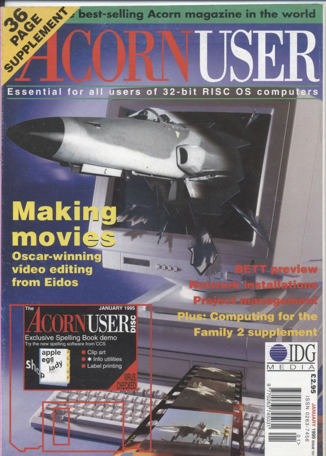 Scan of Document: Acorn User - January 1995