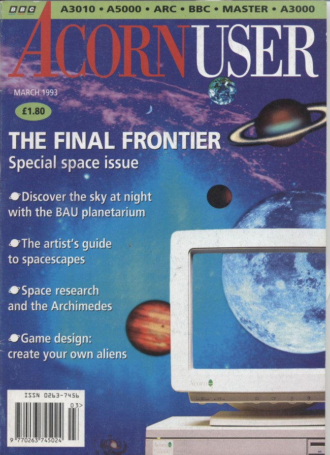 Scan of Document: Acorn User - March 1993