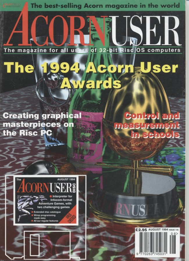 Scan of Document: Acorn User - August 1994