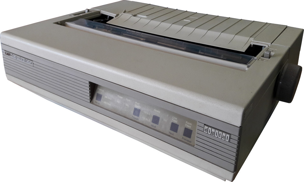 DEC LA75 Companion Printer