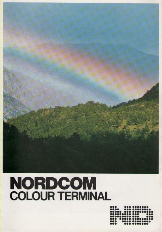 Scan of Document: NORD Colour Terminal