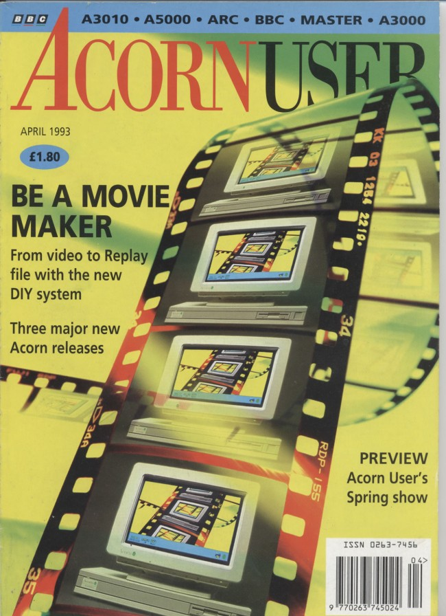Scan of Document: Acorn User - April 1993