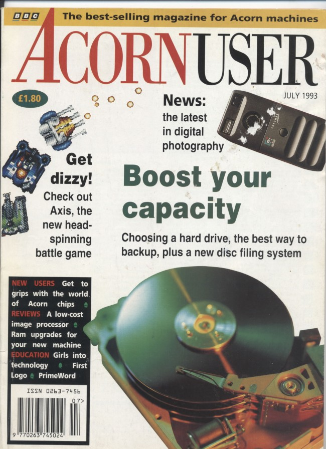 Scan of Document: Acorn User - July 1993