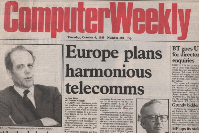 Scan of Document: Computer Weekly 6th October 1983