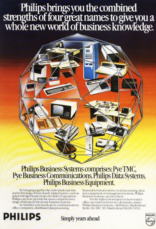 Scan of Document: Philips Business Systems - Combined Strengths
