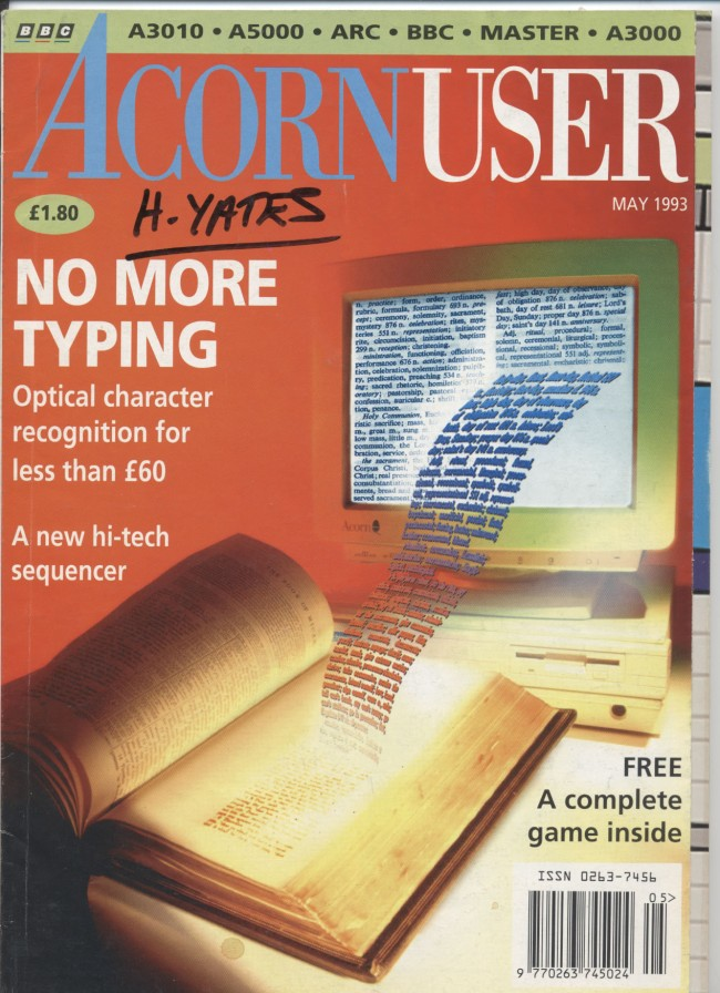 Scan of Document: Acorn User - May 1993
