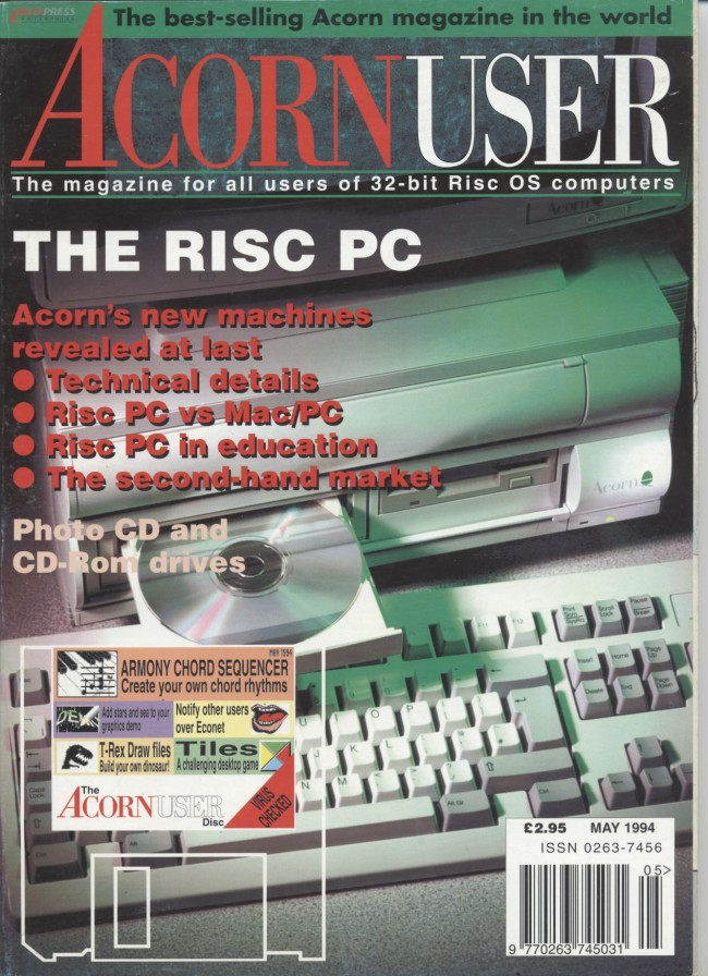 Scan of Document: Acorn User - May 1994