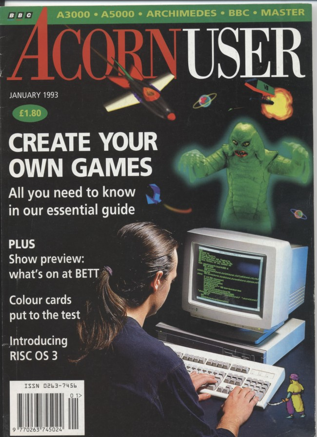 Scan of Document: Acorn User - January 1993