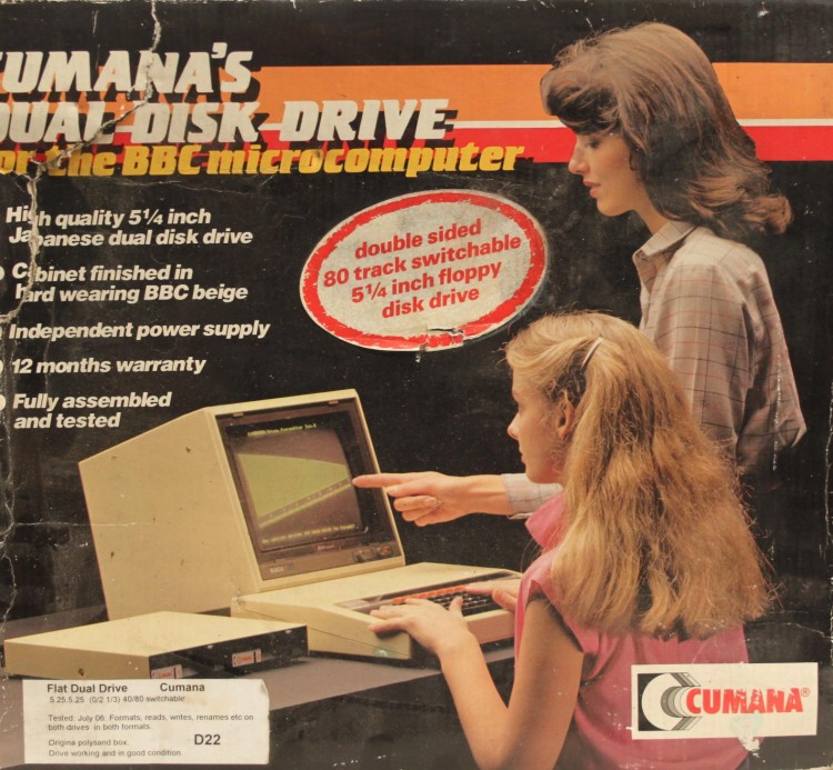 Scan of Document: Cumana 5.25-inch Disk Drive