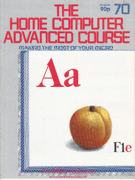 Scan of Document: The Home Computer Advanced Course - Issue 70