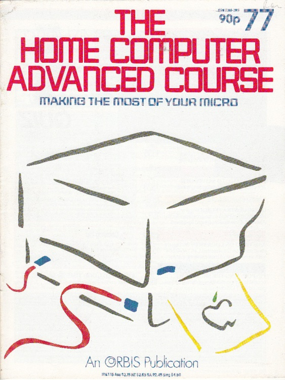 Scan of Document: The Home Computer Advanced Course - Issue 77