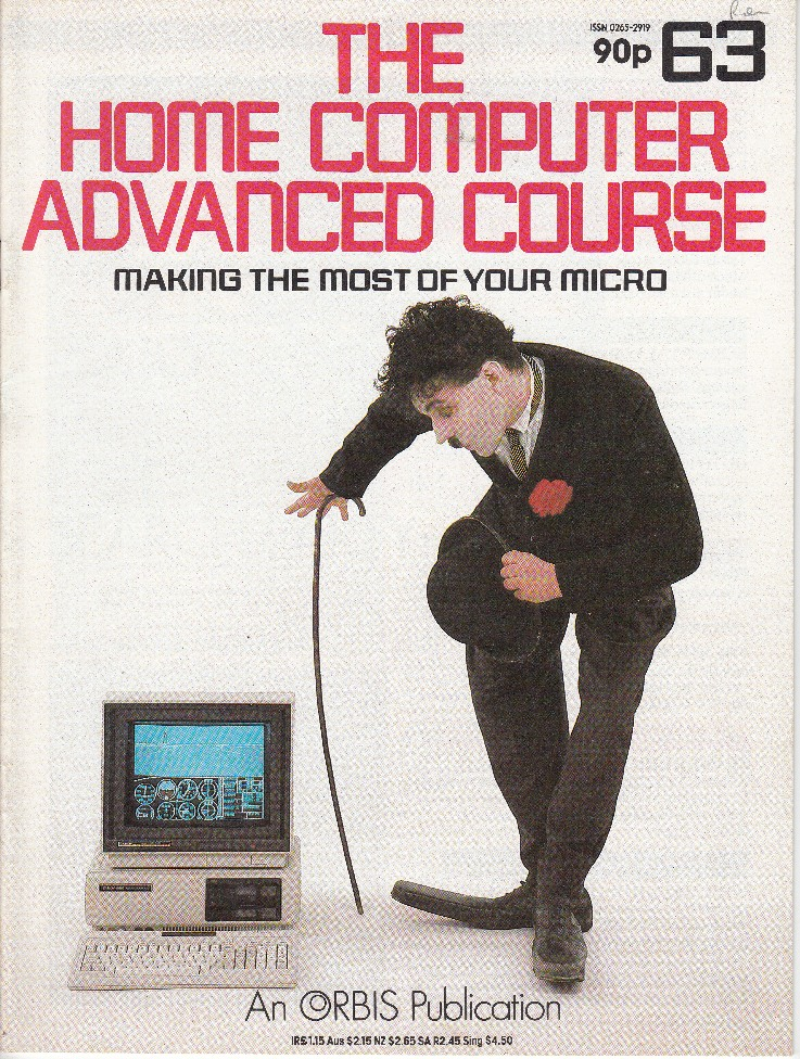 Scan of Document:  The Home Computer Advanced Course - Issue 63
