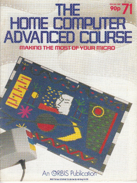 Scan of Document: The Home Computer Advanced Course - Issue 71