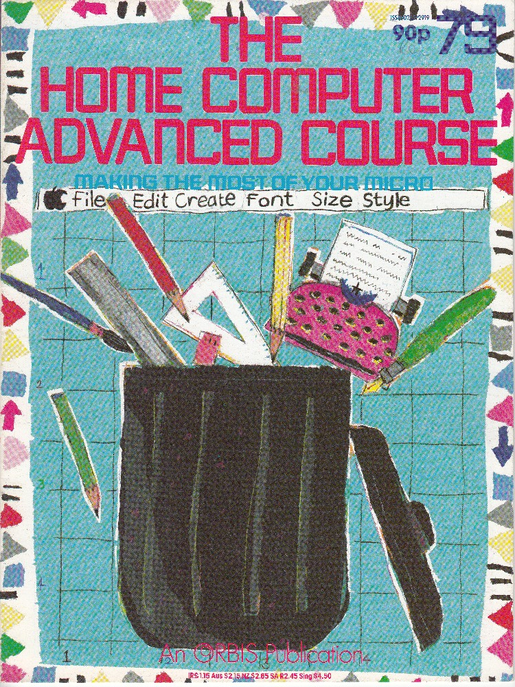Scan of Document: The Home Computer Advanced Course - Issue 79