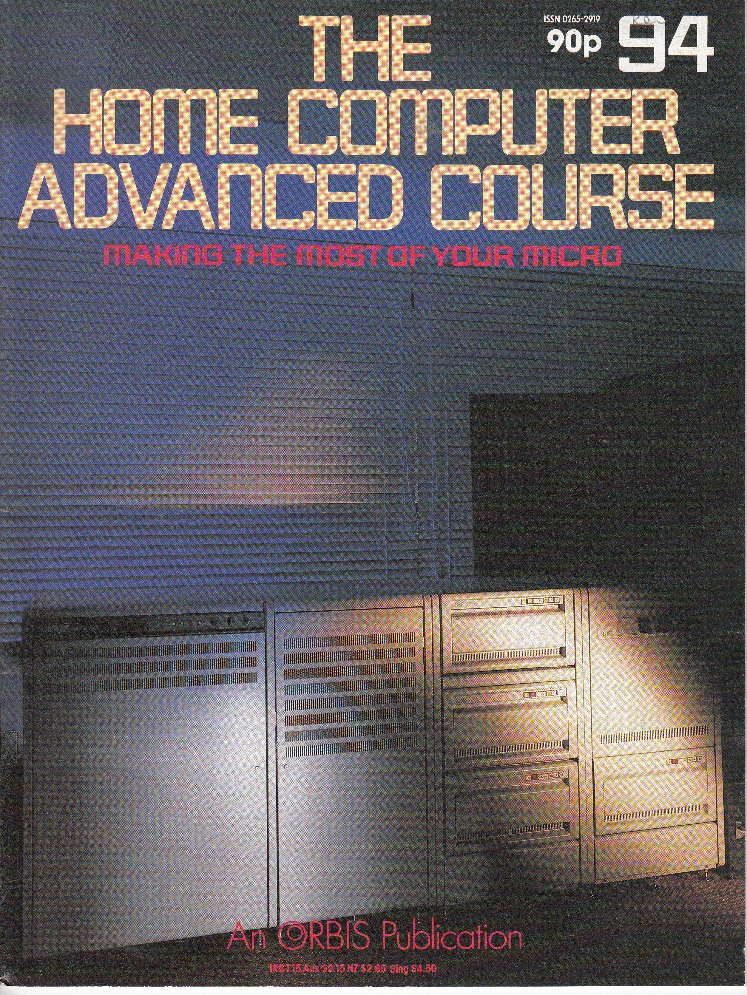 Scan of Document: The Home Computer Advanced Course - Issue 94