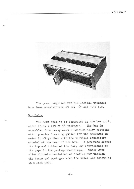 Article: Ferranti - The Argus 100 Series of Computers
