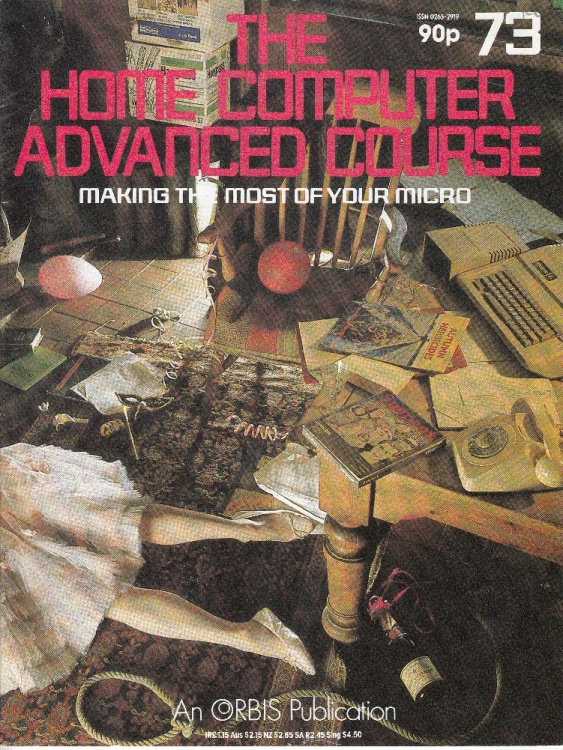 Scan of Document: The Home Computer Advanced Course - Issue 73