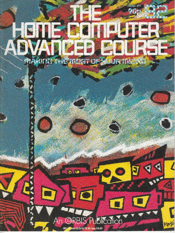 Scan of Document: The Home Computer Advanced Course - Issue 92