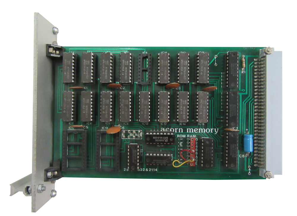 Scan of Document: Acorn 8K Static Ram Card
