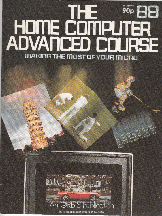 Scan of Document: The Home Computer Advanced Course - Issue 88