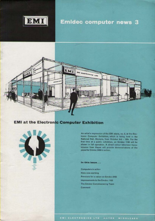 Scan of Document: EMI Emidec 1100 computer