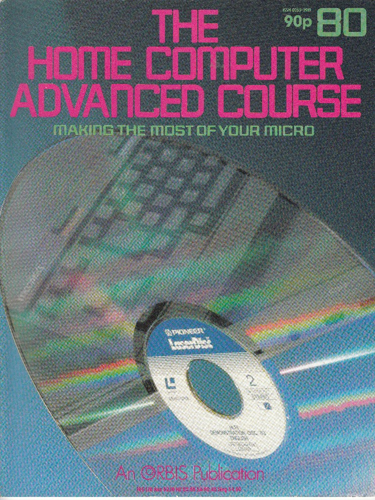 Scan of Document: The Home Computer Advanced Course - Issue 80