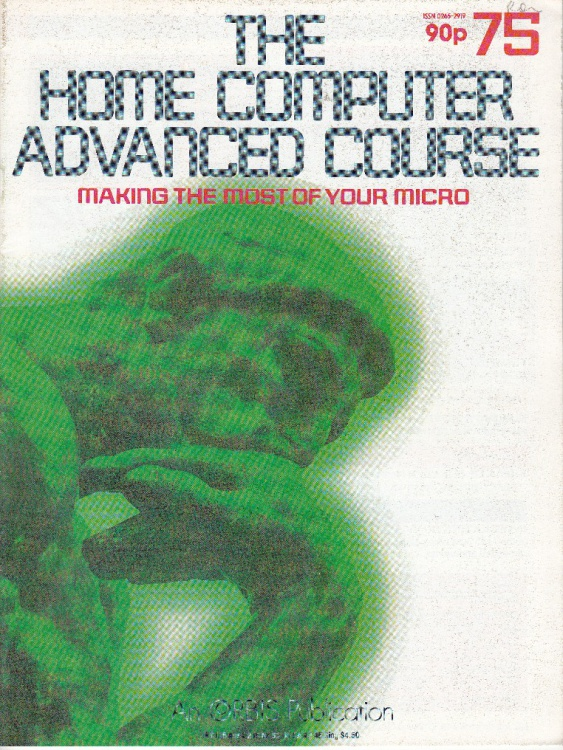 Scan of Document: The Home Computer Advanced Course - Issue 75
